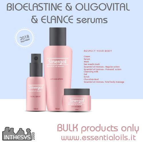 BIOELASTINE & OLIGOVITAL & ELANCE Serums