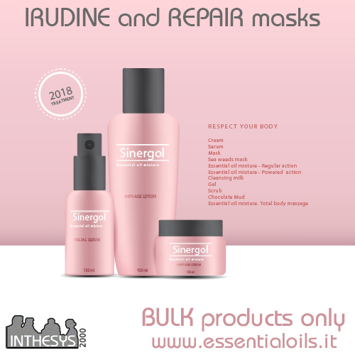 IRUDINE And REPAIR Masks